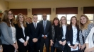Spotkanie z Konsulem USA  Walterem  Braunohler'em (15 listopad)